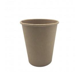 Vasos de papel Nature Kraft Ø 72mm 200ml (7Oz) (50 uds)