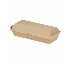 Caja kraft bocadillo 50 uds
